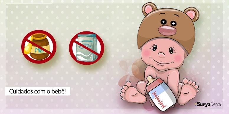 Cuidados necessários com a saúde bucal do seu bebê