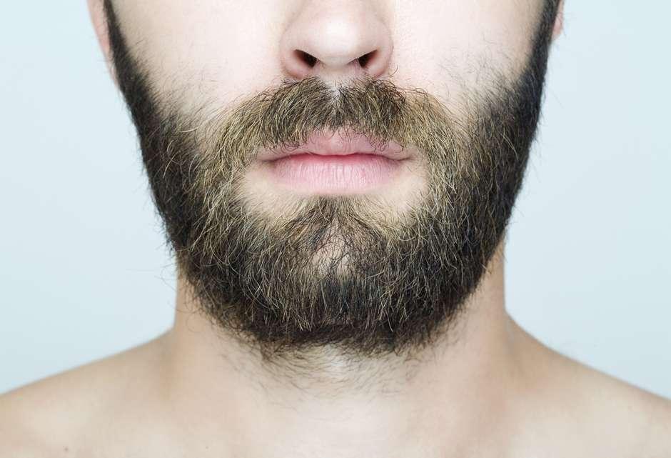 barba é uma das partes mais sujas do corpo