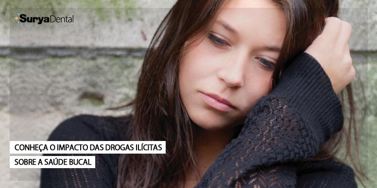 Conheça o impacto das drogas ilícitas sobre a saúde bucal