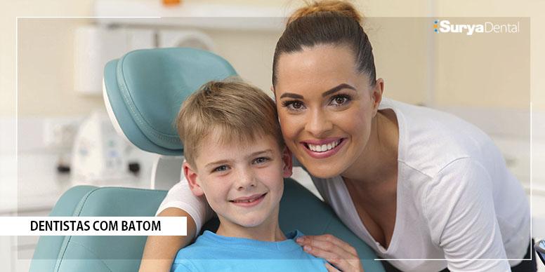 Dentista de batom: Pode ou não pode?
