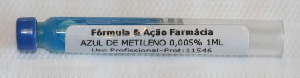 Azul de Metileno Formula e Acao