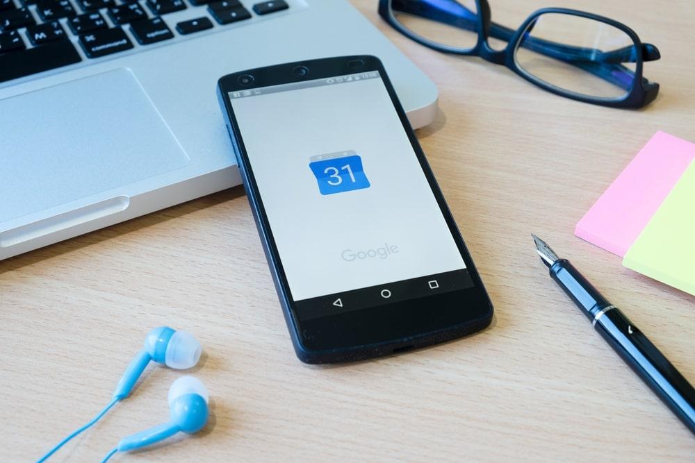 aplicativos para dentista: Google Agenda