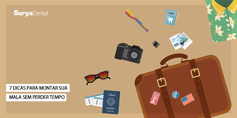 Como arrumar a mala de viagem?