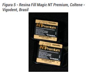 Figura 5 - Resina Fill Magic NT Premium, Coltene - Vigodent, Brasil