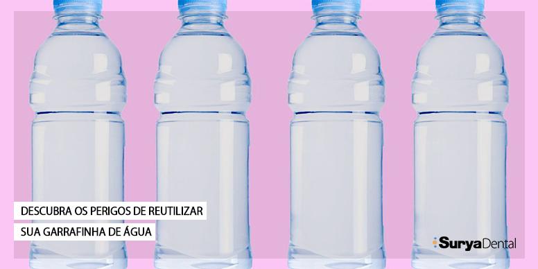 Descubra os perigos de reutilizar sua garrafinha de água