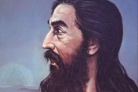 Quadro de imagem de Tiradentes retratado como Jesus