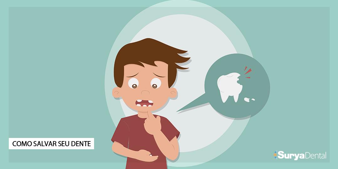 Como salvar seu dente quebrado