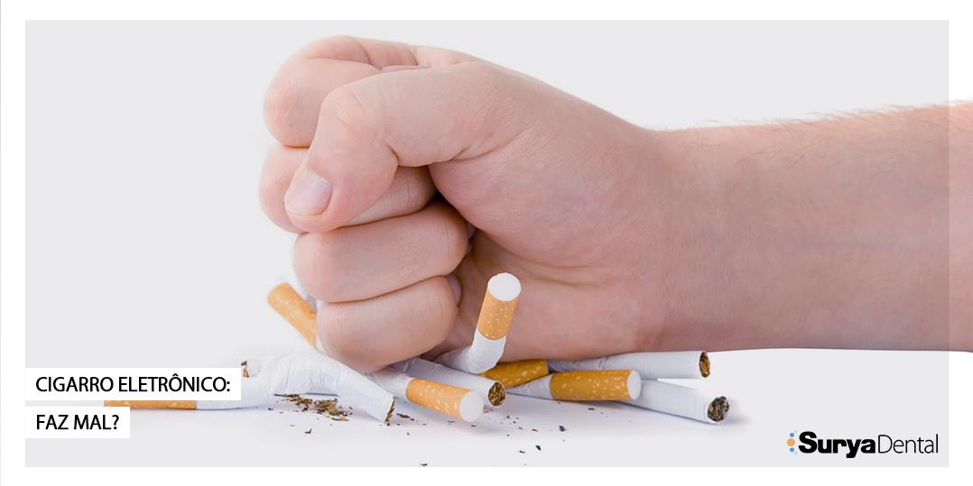 Cigarros eletrônicos destroem células bucais em poucos dias